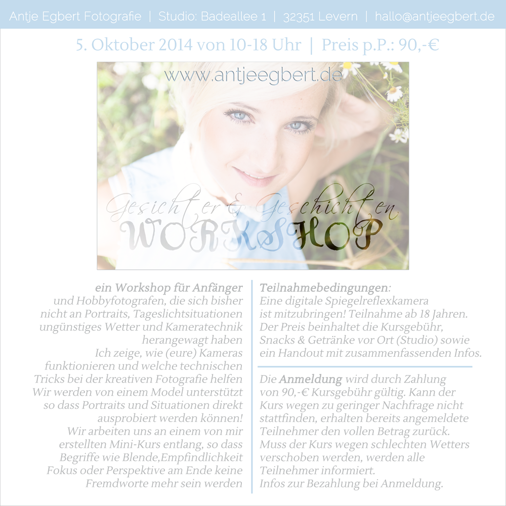 Foto-Workshop 2014